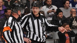 NHL Mic'd Up Referees of the Stanley Cup Final 2017.