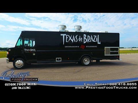Texas de Brazil Food Truck Built By Prestige Food Trucks
