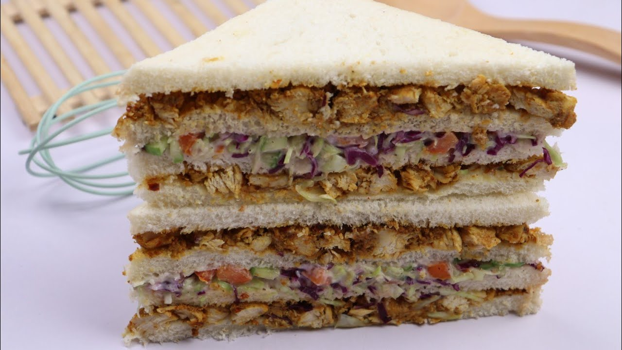 Chicken Club Sandwich By Recipes Of The World