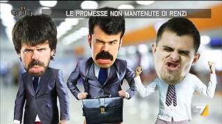 Le promesse non mantenute di Renzi