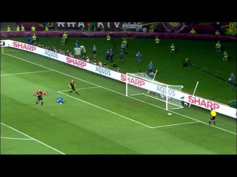 Samenvatting Portugal-Nederland (2-1) EK 2012 17-06-2012