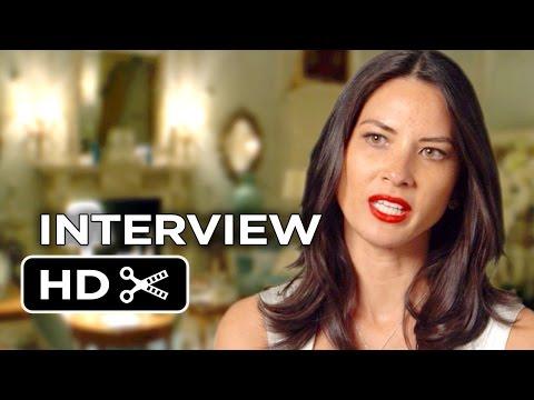 Mortdecai Interview - Olivia Munn (2015) - Johnny Depp Movie HD