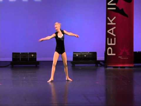 Jazz solo dance, Cassidy, Peak Competition 2011
