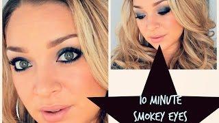 10 Minute Glam Smokey Eyes for Brown Eyes Thumbnail