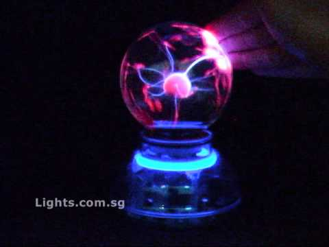 LIGHTS.com.sg - Plasma Ball (Music / Sound Activated Electric ...