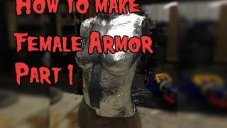 Download Video How to Make Female Cosplay Armor, Tutorial Part 1 MP3 3GP MP4