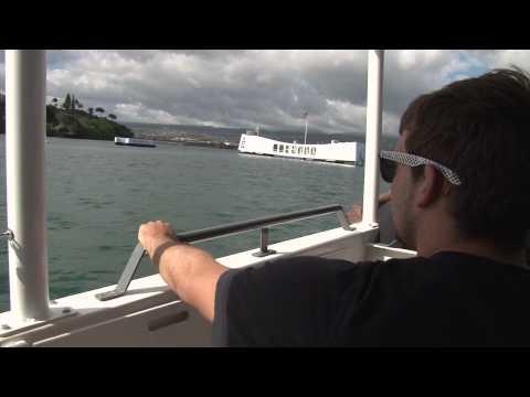 University of Hawaii Football Team Gets Taste of Navy Life