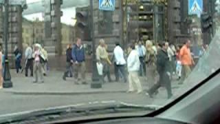 Голая женщина Невский проспект 2007