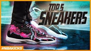 Top 5 Sneakers in the NBA #NBAKicks - Week 4