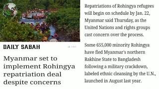 English News Translation in Rohingya Language Rohingya Times914 Daily News #Today 05 January 2018