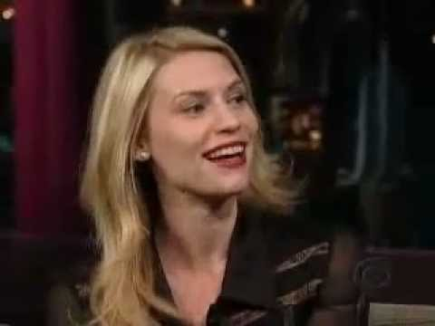 """Claire Danes - Interview """"Late show with David Letterman"""" (2005)"""