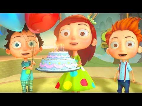 Cumpleaños Feliz  - Canciones Infantiles | El Reino Infantil