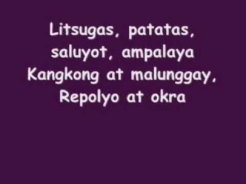 Bahay Kubo (Ikalawang Bahgi) - Joey De Leon & Wally