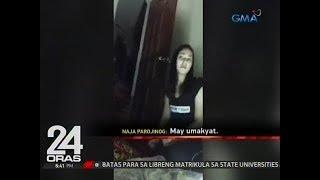 24 Oras: Video ng anak ni VM Parojinog, gagamiting ebidensiya laban sa PNP raiding team