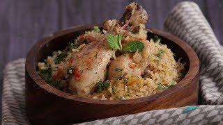 Chicken Pulao Recipe in Marathi   Chicken Pulao in Pressure Cooker   Non Veg Recipe For Bachelors