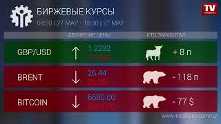 InstaForex tv news: Кто заработал на Форекс 27.03.2020 15:30