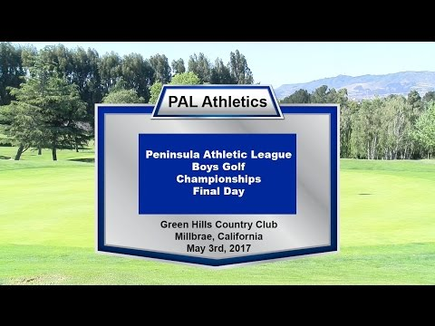 2017 PAL Boys Golf Championship