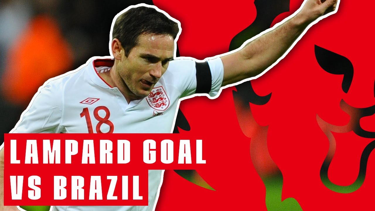 Download Frank Lampard Scores Spectacular Goal as England Beat Brazil! | England 2-1 Brazil