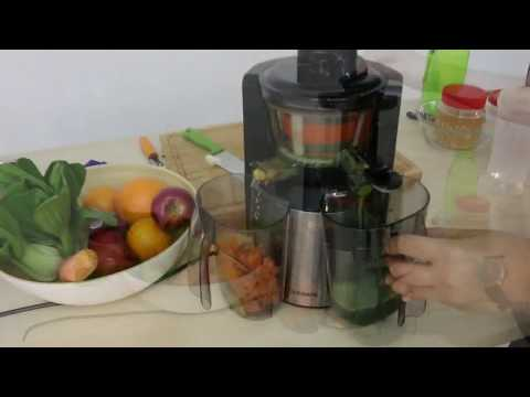 Alpha Living Slow Juicer Maker Extractor Fruits and Vegetable Juice Machine 150W (KEA0230)