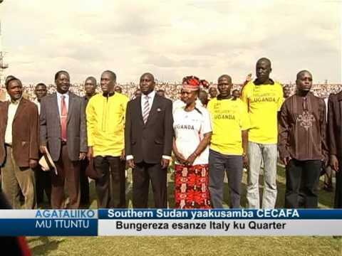 Southern Sudan yaakusamba CECAFA
