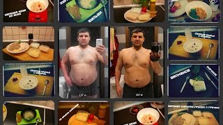 Похудеть не сложно! Меню на день. Трансформация online.