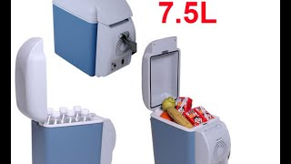Посылка из Китая(холодильник для автомобиля)(, 2016-06-14T13:23:43.000Z)
