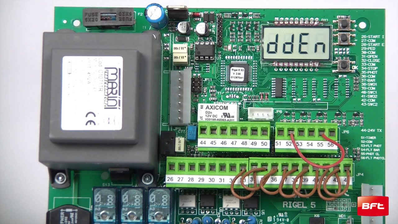 08 ENG Programming Mitto transmitter without hidden button) on Rigel 5  control board [short]