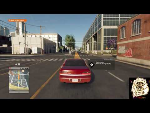 cant get aroungh of this game | watchdogs 2 |