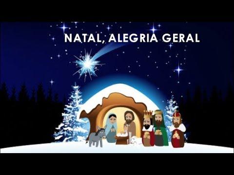 Natal Alegria Geral Playback Com Letra Youtube
