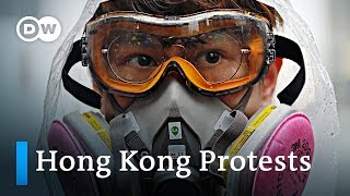 Violence escalates on the streets of Hong Kong | DW News