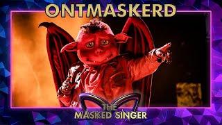 ONTMASKERD: Wie is Duiveltje echt?   The Masked Singer   VTM