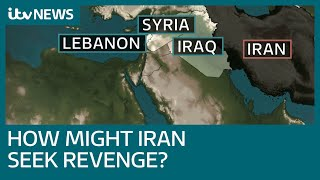 How might Iran seek revenge for US killing of top general Qassem Soleimani? | ITV News
