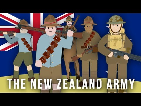 WWI Factions: The New Zealand Army