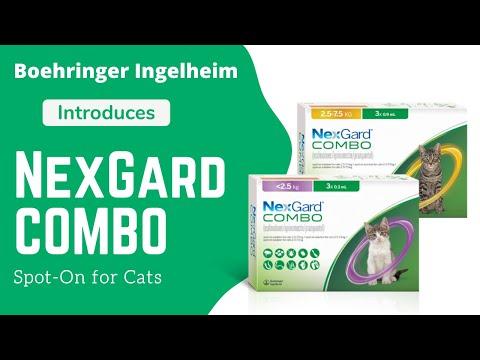 Boehringer Ingelheim Introduces NexGard COMBO Spot-On for Cats