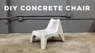 DIY Concrete Chair IKEA Hack