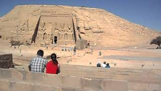 Abu Simbel-Lake Nasser created by Aswan dam