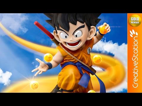 Dragon Ball - 3D Speed art (#Zbrush, #MarvelousDesigner, #Photoshop) | CreativeStation GM