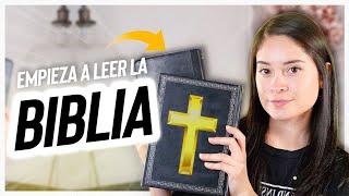 ¿Cómo leer la Biblia para principiantes?