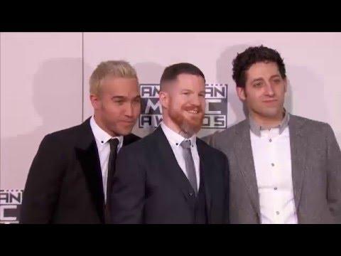 Fall Out Boy Red Carpet Fashion AMAs 2015