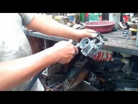 Limpieza de cuerpo aceleración, inyectores, válvula IAC