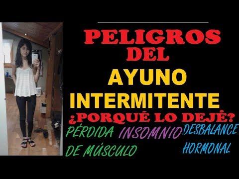 PELIGROS DEL AYUNO INTERMITENTE