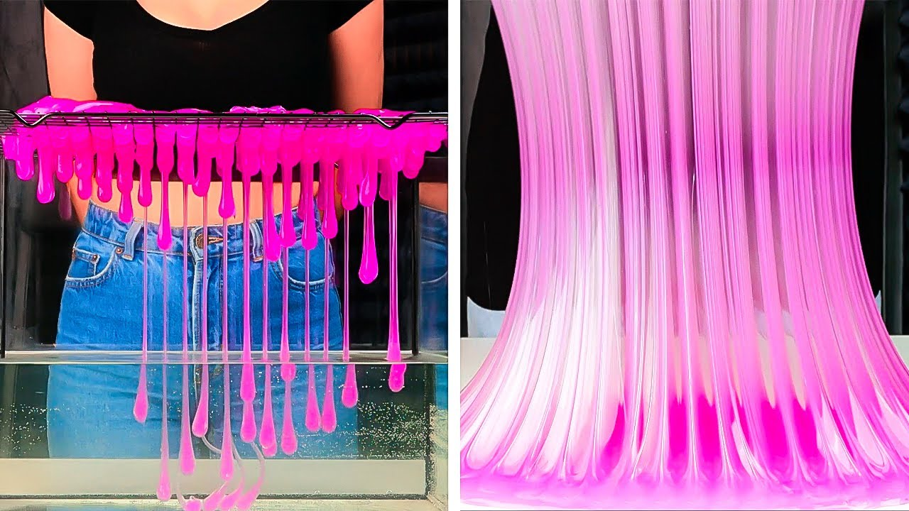 Mesmerizing Tricks With SLIME You Should Try Right Now    5-Minute Recipes For Your Relaxation!