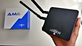 Powerful UGOOS AM6 Android 9 TV Box - S922X Hexacore - NEW FEATURES!