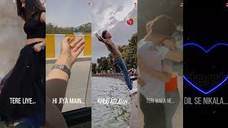Tum Hi Ho|Arijit Singh|Aesthetic video|Trending Full Screen Whatsaap Status|⚡Reel4k