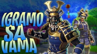 WE ARE PLAYING WITH YOU, * NEW * BUSHIDO SKINOVI//BALKANS FORTNITE//455 + POBEDA, 80 + LEVEL