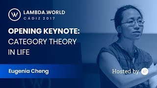 Category Theory in Life - Eugenia Cheng