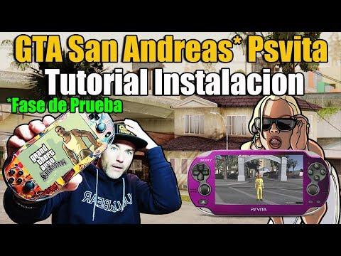GTA San Andreas En PSvita PORT - Tutorial De Instalación - Versión De Prueba