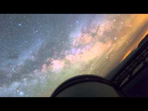 A Time-Lapse from a Telescope's Point of View