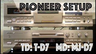 Pioneer  T-D7 & Pioneer MJ-D7
