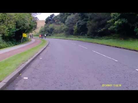 GoSkyRide Edinburgh 2013 Rider View